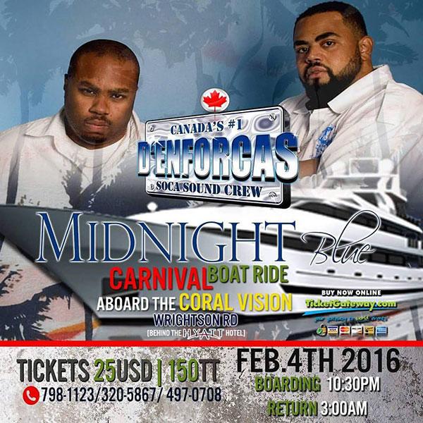 Midnight Blue Carnival Boat Ride