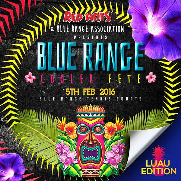 Blue Range Cooler Fete: Luau Edition