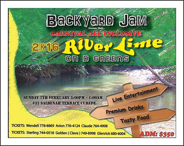 Backyard Jam Annual Carnival All Inclusive