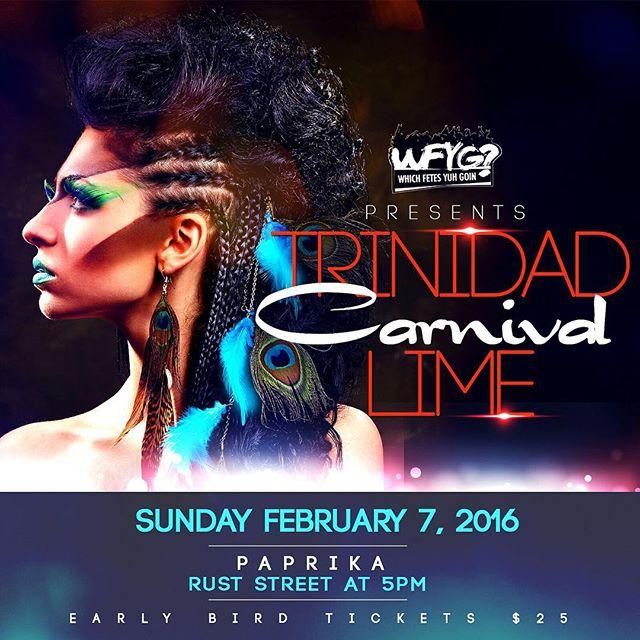 WFYG, TM Presents The Trinidad Carnival Lime