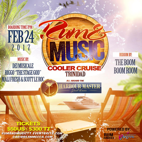 Rum & Music Cooler Cruise - Trinidad