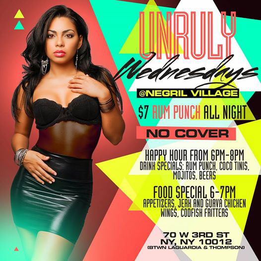 Unruly Wednesdays Afterwork