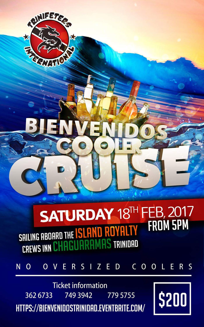 Bienvenidos cooler cruise