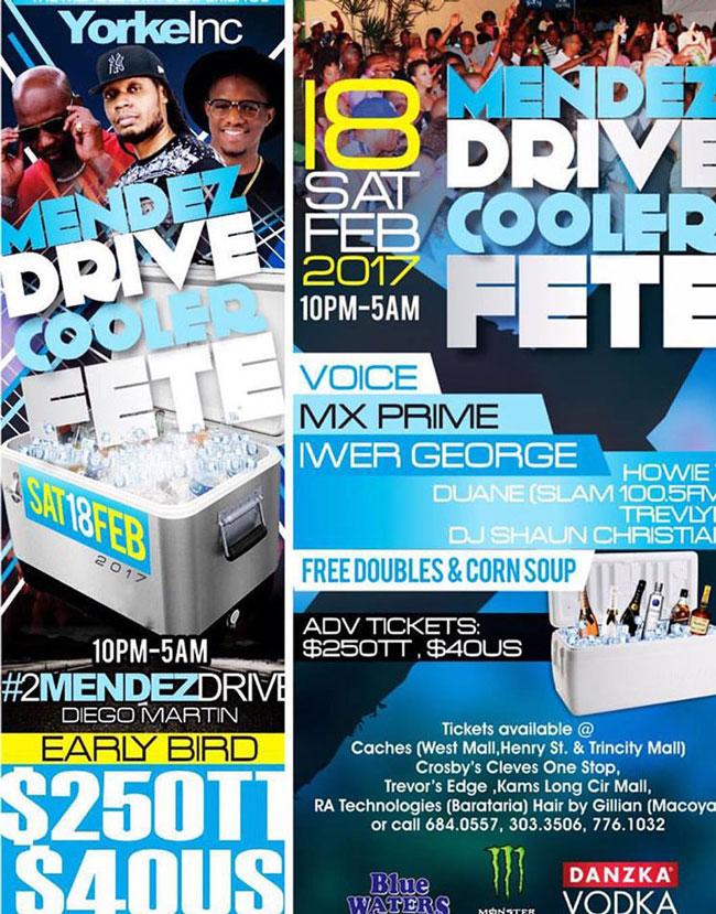 Mendez Drive - Cooler Fete