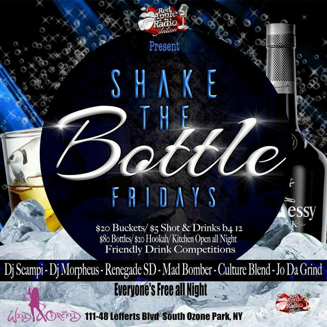 Shake The Bottle Friday