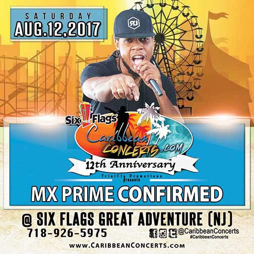 Six Flags Caribbean Concert