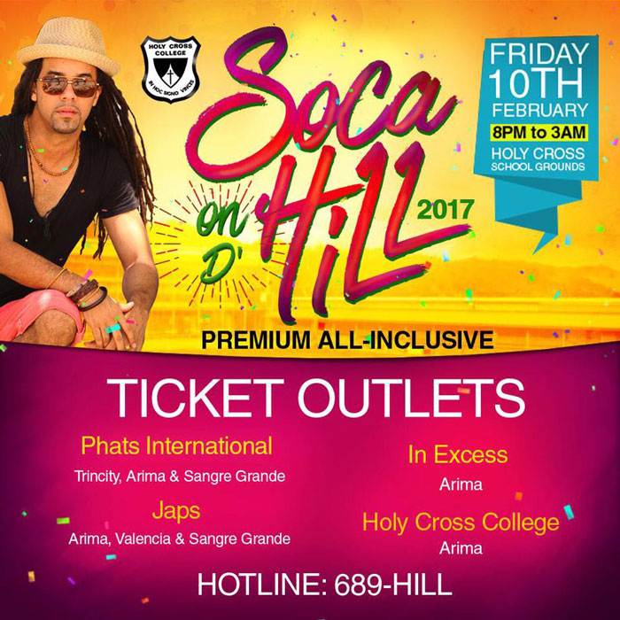 Soca on d Hill - All Inclusive