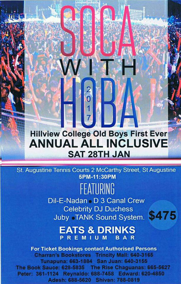 Soca with HOBA All Inclusive