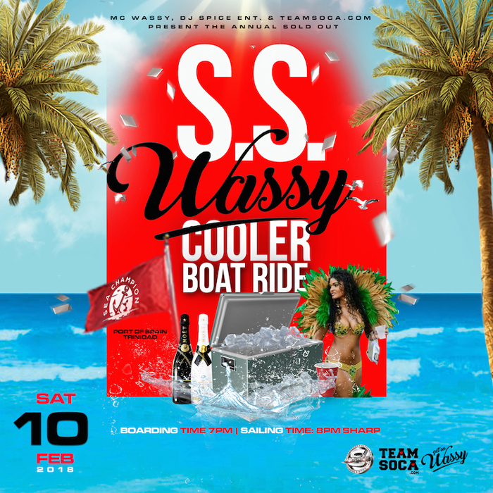 SS Wassy Boatride Trinidad 2018