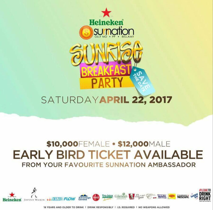 Sunnation Sunrise Breakfast Party