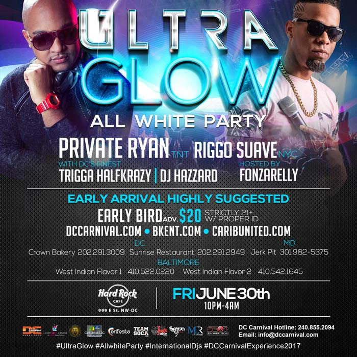 Ultra Glow : The All-White Party
