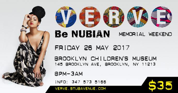 VERVE - Be NUBIAN