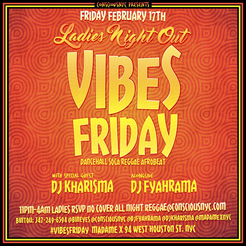 Vibes Dancehall Fridays
