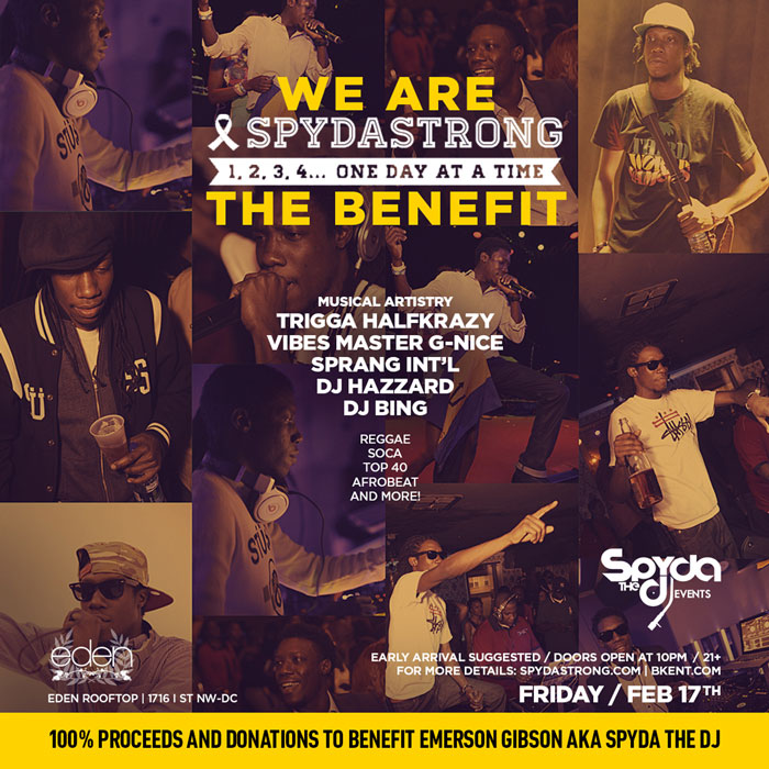 We Are #SPYDASTRONG :: The Benefit