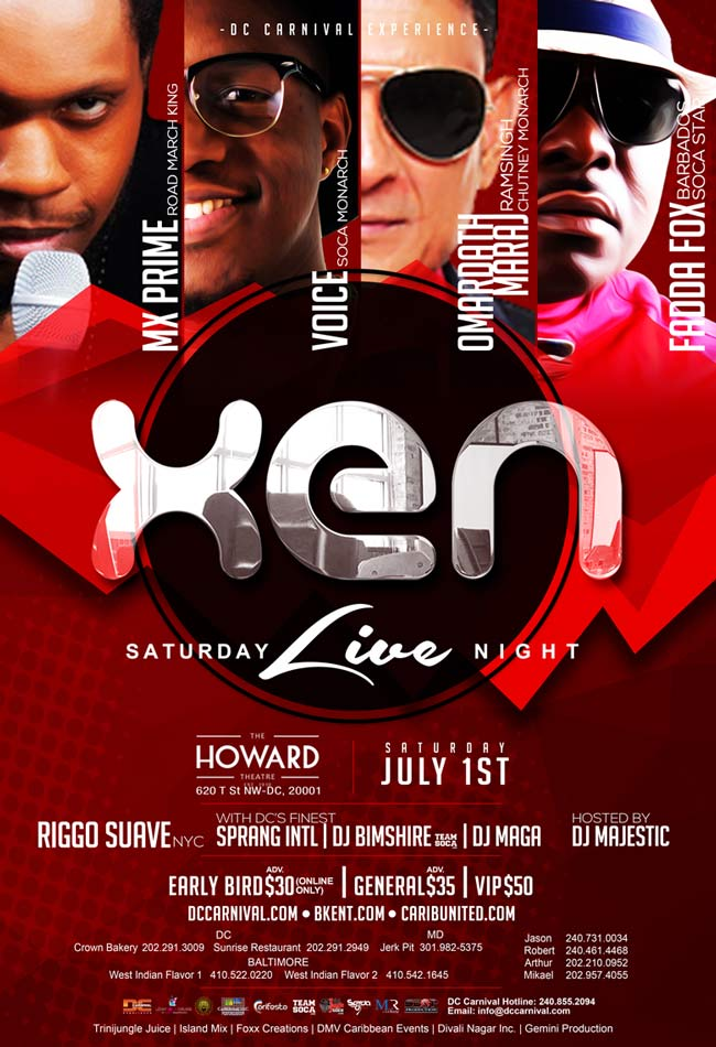 XEN : Kings Of Soca