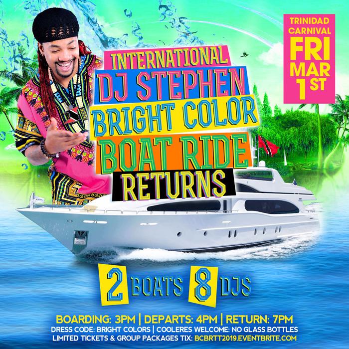 Bright Colors Boatride (The Return)