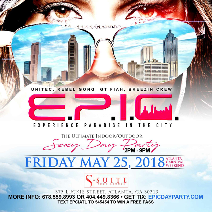 E.P.I.C. (Experience Paradise In The City) Day Party