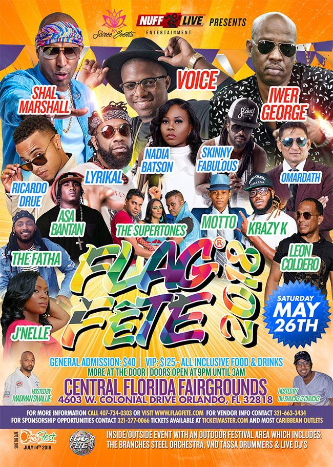 Flag Fete 2018 - Orlando FL