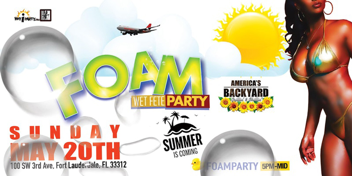 Foam Wet Fete