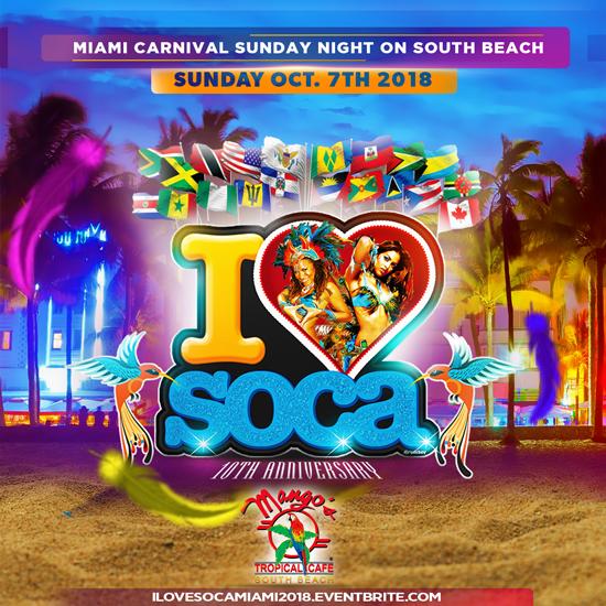 I Love Soca Miami Carnival