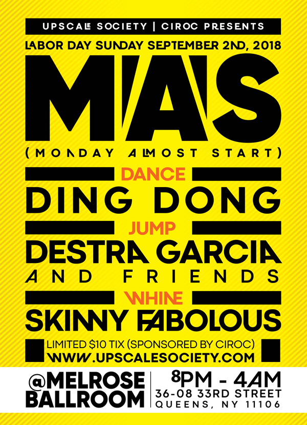 Mas (Monday Almost Start)