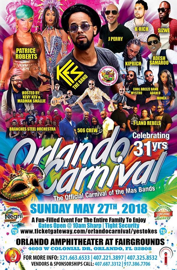 Orlando Carnival 2018