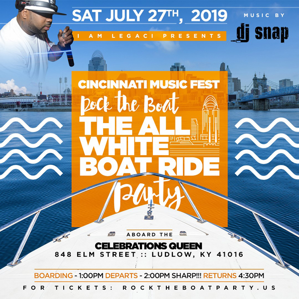 Rock The Boat 2019 The 3rd Annual All White Boat Ride Day Party