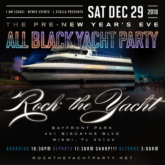 Rock The Yacht 2018 The Pre-New Year
