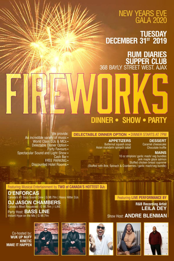 Fire Works: New Years Eve Gala