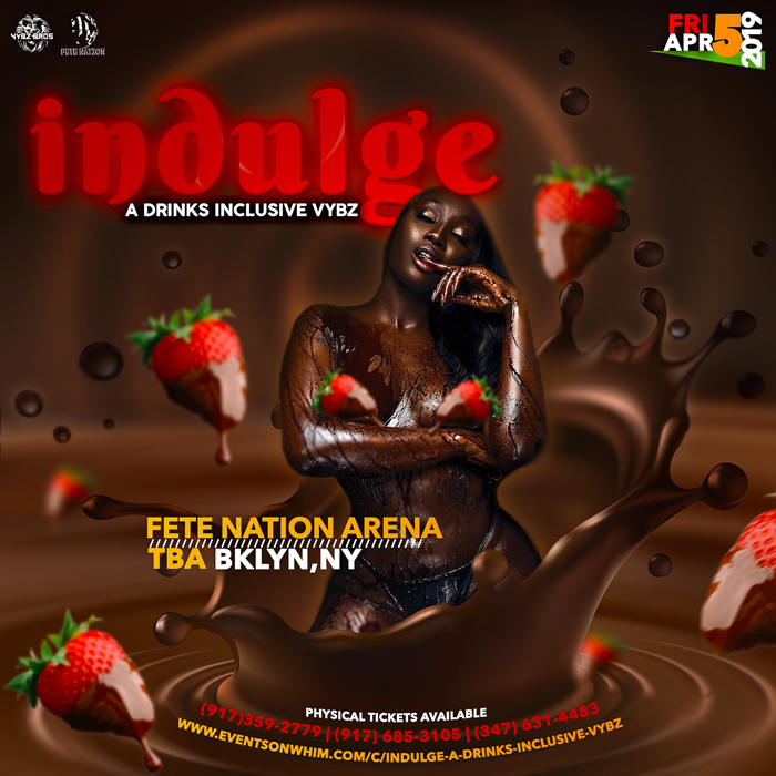 Indulge - A Premium Drinks Inclusive VYBZ