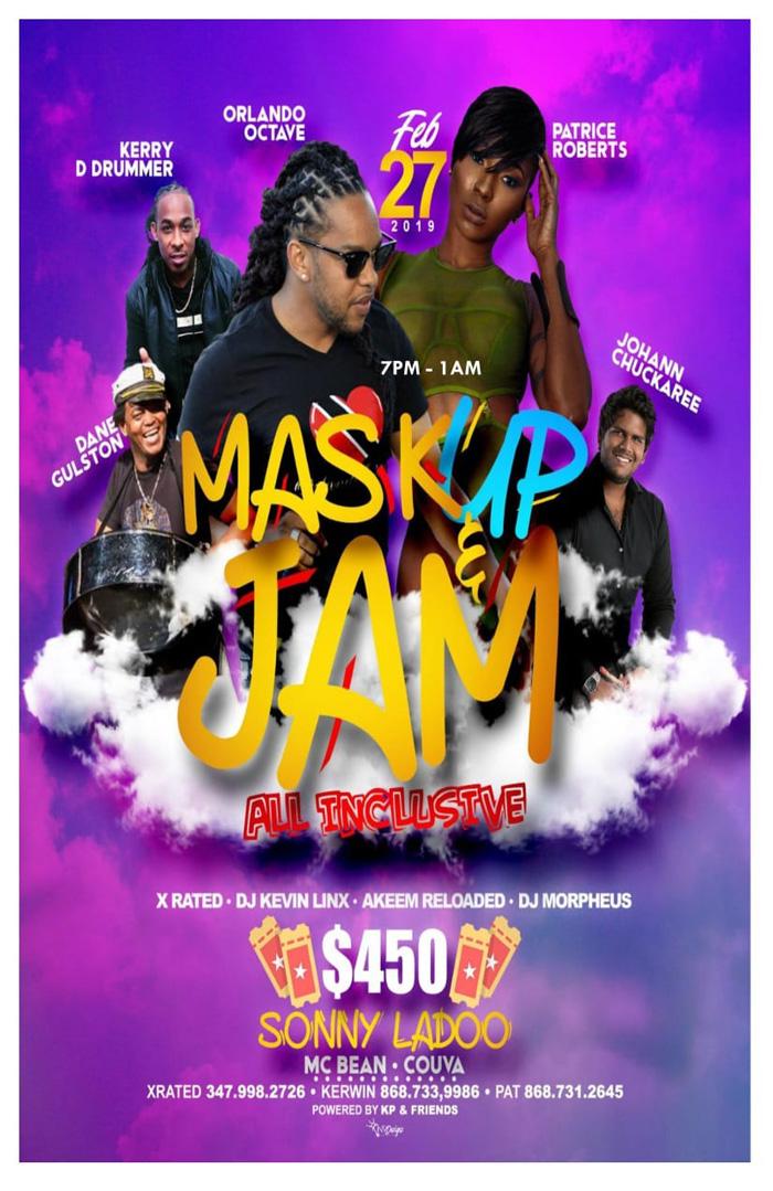 Mask up & Jam