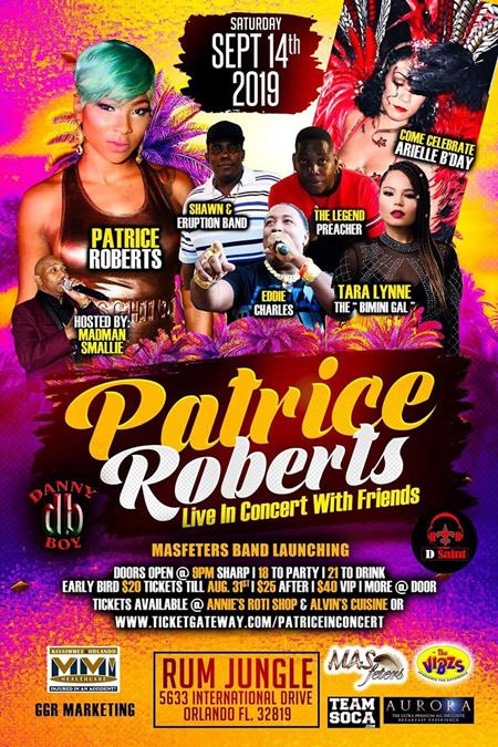 Patrice in Concert