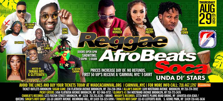 Reggae | Afro Beats | Soca - Under The Stars