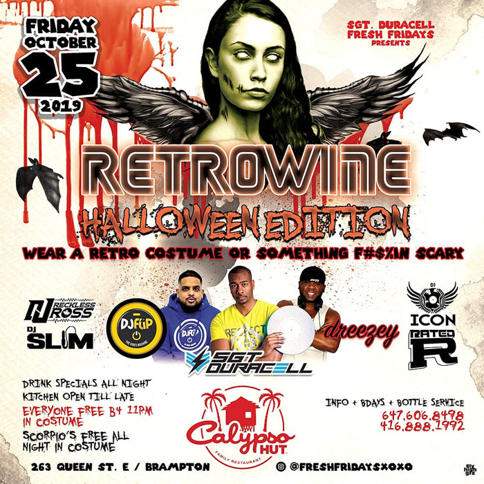 Retrowine Halloween Edition