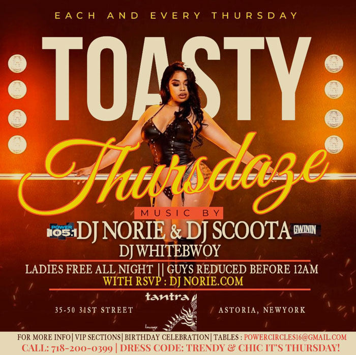 Toasty Thursday