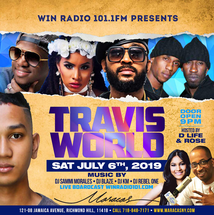 Travis World at Maracas Nightclub