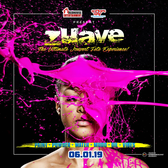 """Zuave 2019 The Ultimate Jouvert Festival """"Nyc Meets Boston Round Trip"""""""