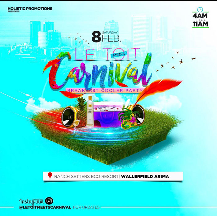Le Toit Meets Carnival - Breakfast Cooler Party