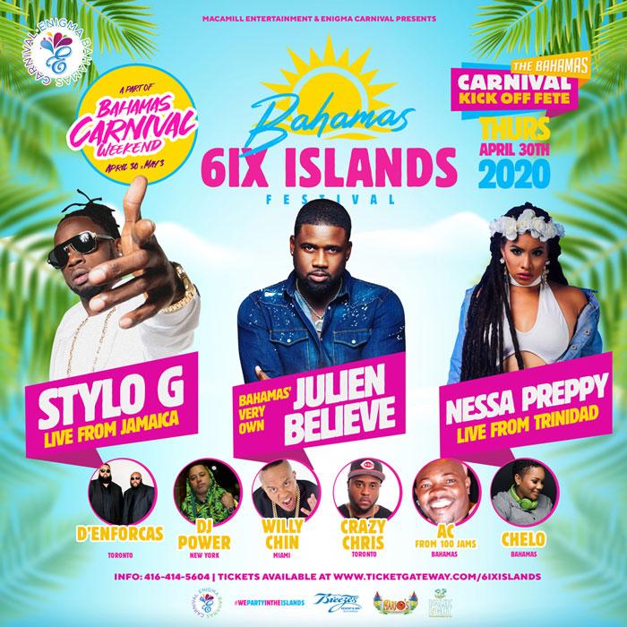 The Bahamas 6ix Island Festival