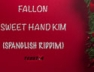 Sweet Hand Kim (Spanglish Riddim)