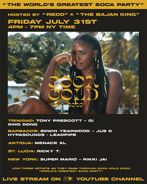 Soca Gold 2020 Party