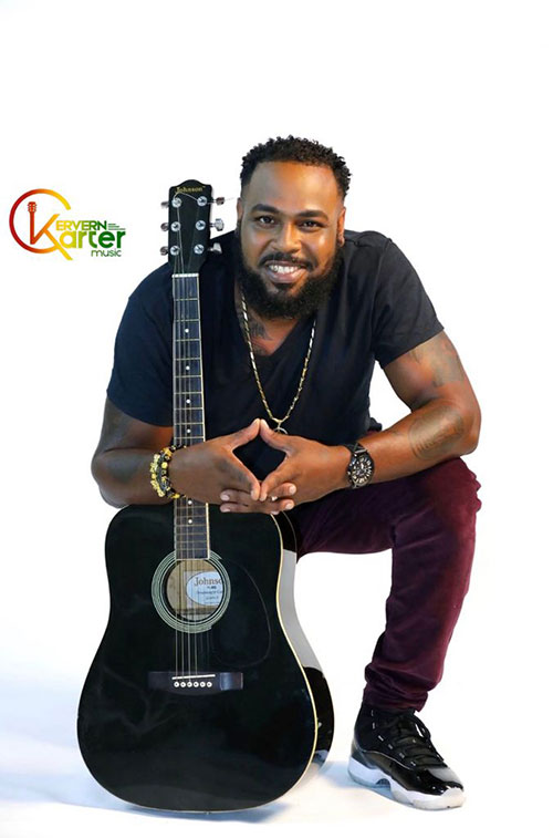 Kervern Carter seeks to be a lighthouse in the storm with his latest musical release, 'Heal the World with Love'.