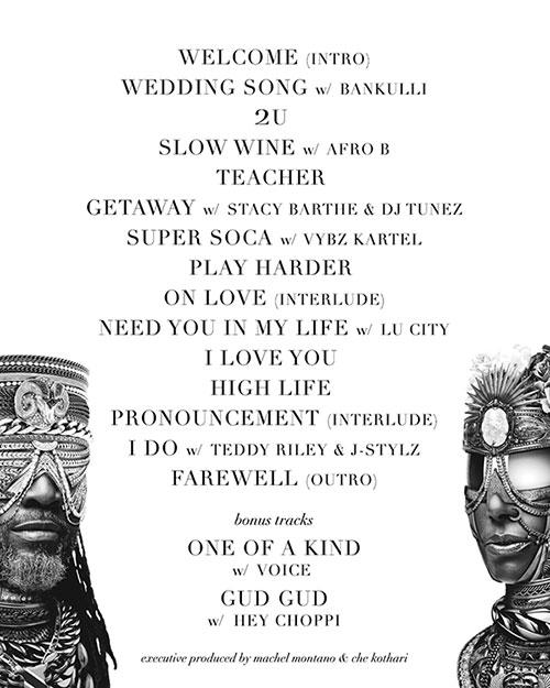 Machel Montano - The Wedding Album Artistes
