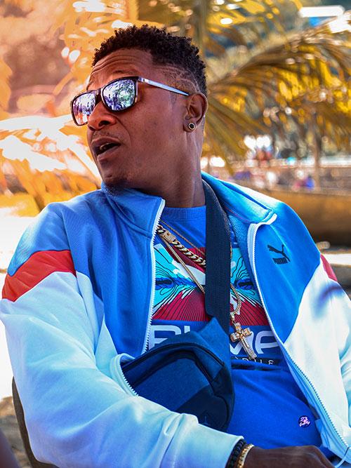 Saint Lucian recording artist Infinate