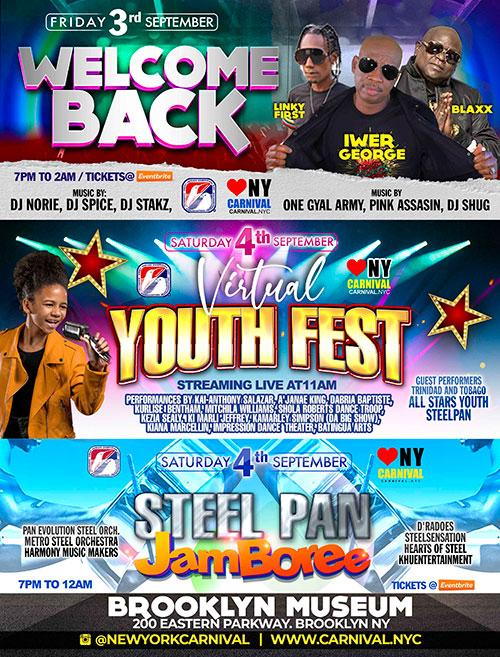WIADCA presents 'Rebirth' for New York Carnival Week 2021