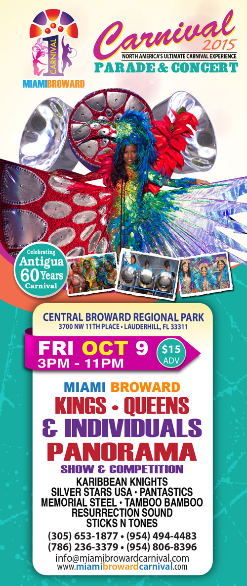 Miami broward carnival panorama competition set to showcase trinidad miami broward carnival panorama competition set to showcase trinidad and tobagos rich heritage through melodic steel band performances malvernweather Choice Image