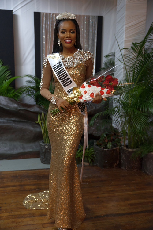 New Miss Universe 2018 >> Yvonne Clarke crowned Miss Trinidad and Tobago Universe 2017