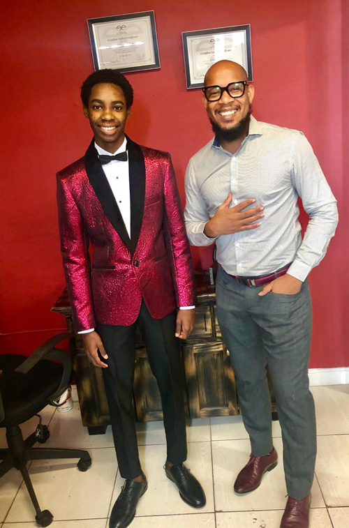 Menswear Designer Ecliff Elie Gives Back Endorses Finding Solutions For Youths Social Problems