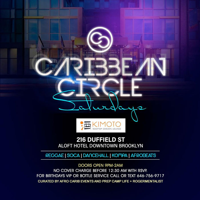 Caribbean Circle Saturdays (Weekly Event)